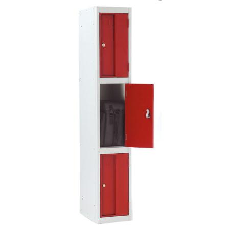 Strong Hold Heavy Duty Lockers Three Door
