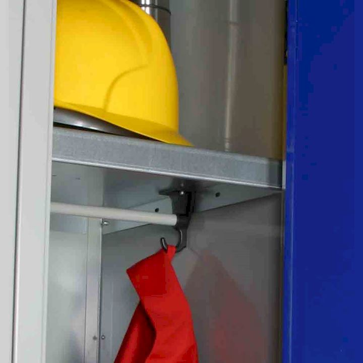 E Series Hanging Rail for 450mm deep lockers only