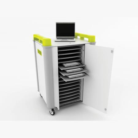 LapCabby 16H – Laptop Store & Charge Trolley - 16 Laptops