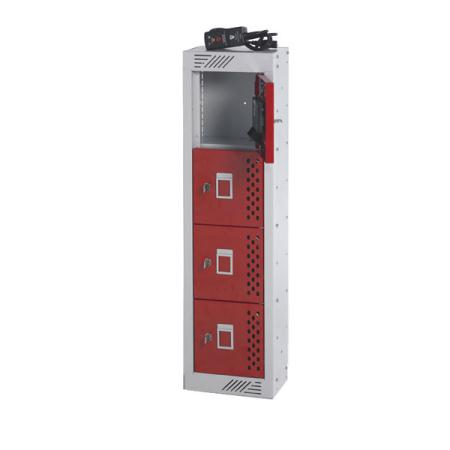 Charging Phone Locker 900H x 250W x 180D 4 Door