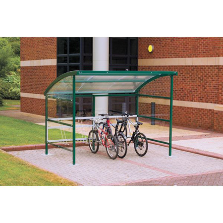 Premier Cycle Shelter - Perspex