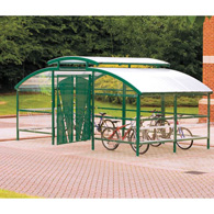 Cycle Compound with gates & canopy