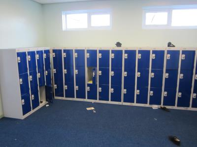 Low Lockers at Thornhill Junior & Infant School