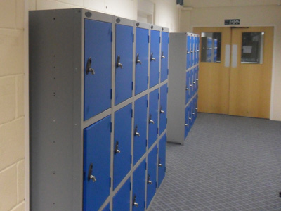 Robust Sport Lockers for Bedes School