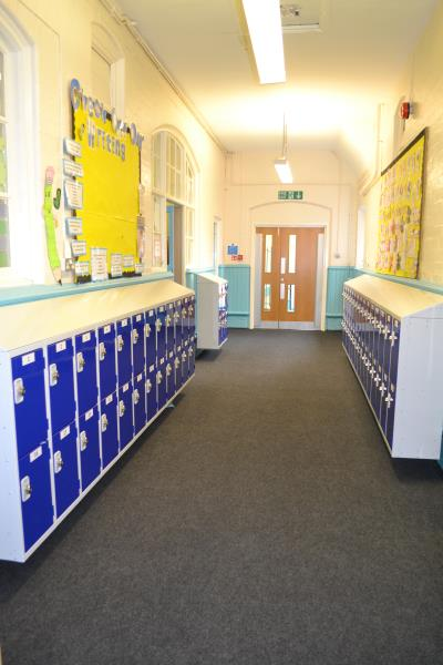 Half Height Lockers at Stirchley Community Primary School