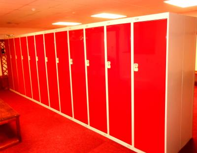 Golf Lockers at Okehampton Golf Club