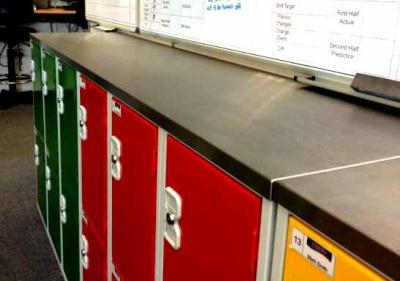 Two Tier Lockers At Princes Soft Drinks Ltd