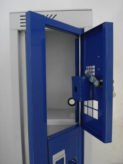 Police Lockers at North Wales Police