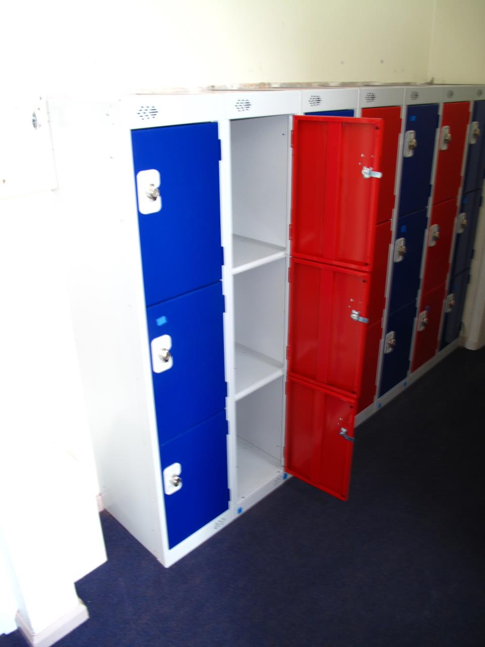 Low School Lockers at Elland C of E School
