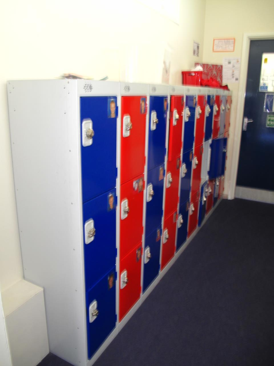 Low Junior School Lockers at Elland School