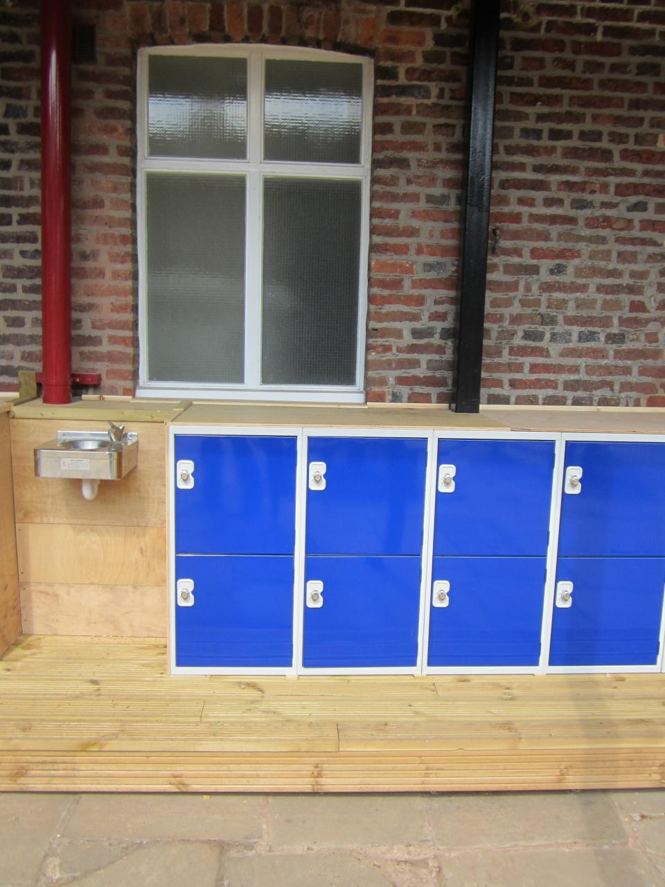 Junior School Lockers at Terra Nova School