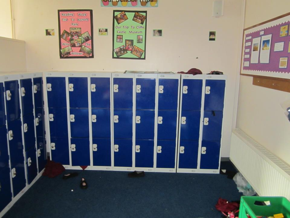 Thornhill Junior and Infant School Low Lockers