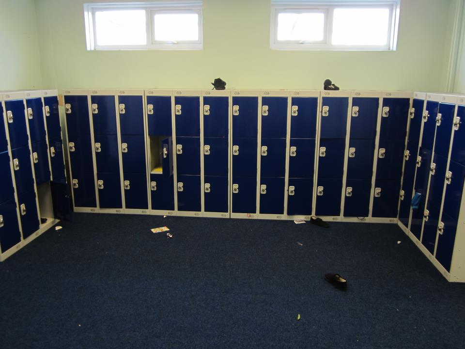 Three Door Low Lockers at Thornhill Junior and Infant School