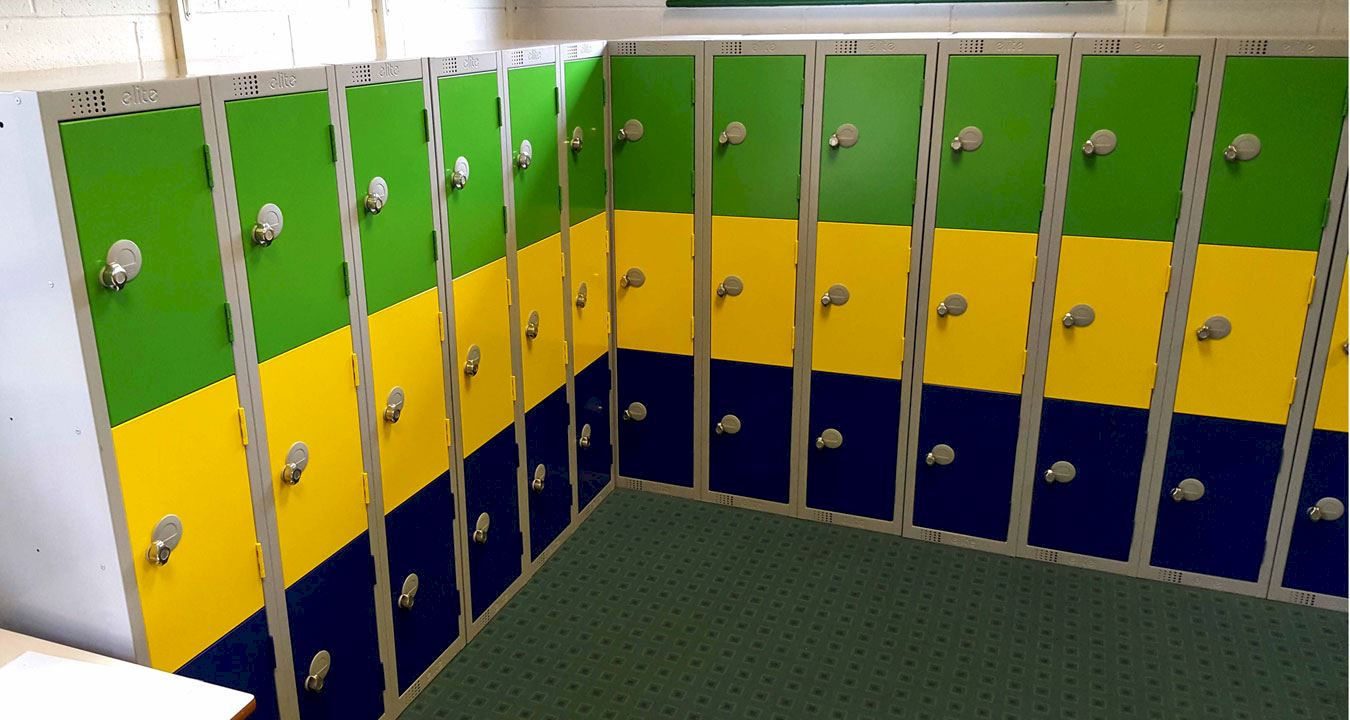Low Lockers at Westerton Primary School