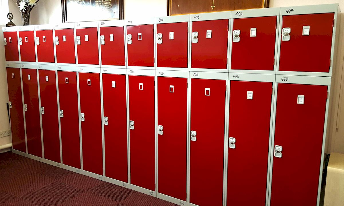 Golf Lockers at South Yorkshire Golf Club