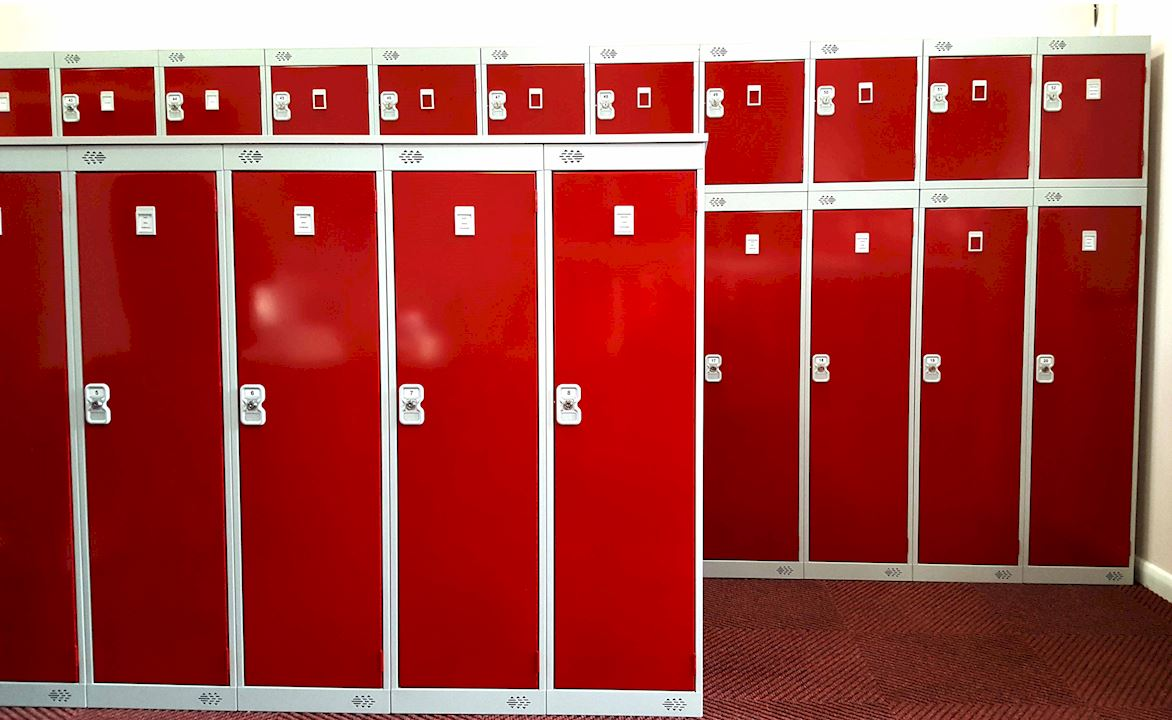 Metal Golf Lockers - South Yorkshire Golf Club