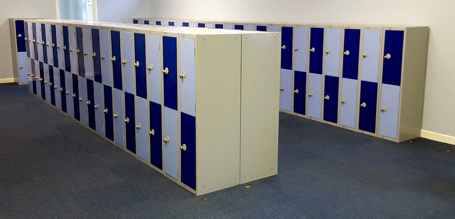 1370H Lockers at Normanton Junior Academy