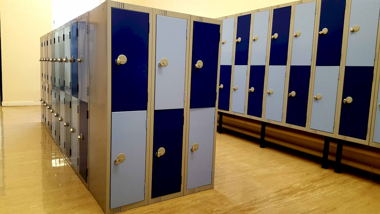 1370H Primary School Lockers - Normanton Junior Academy