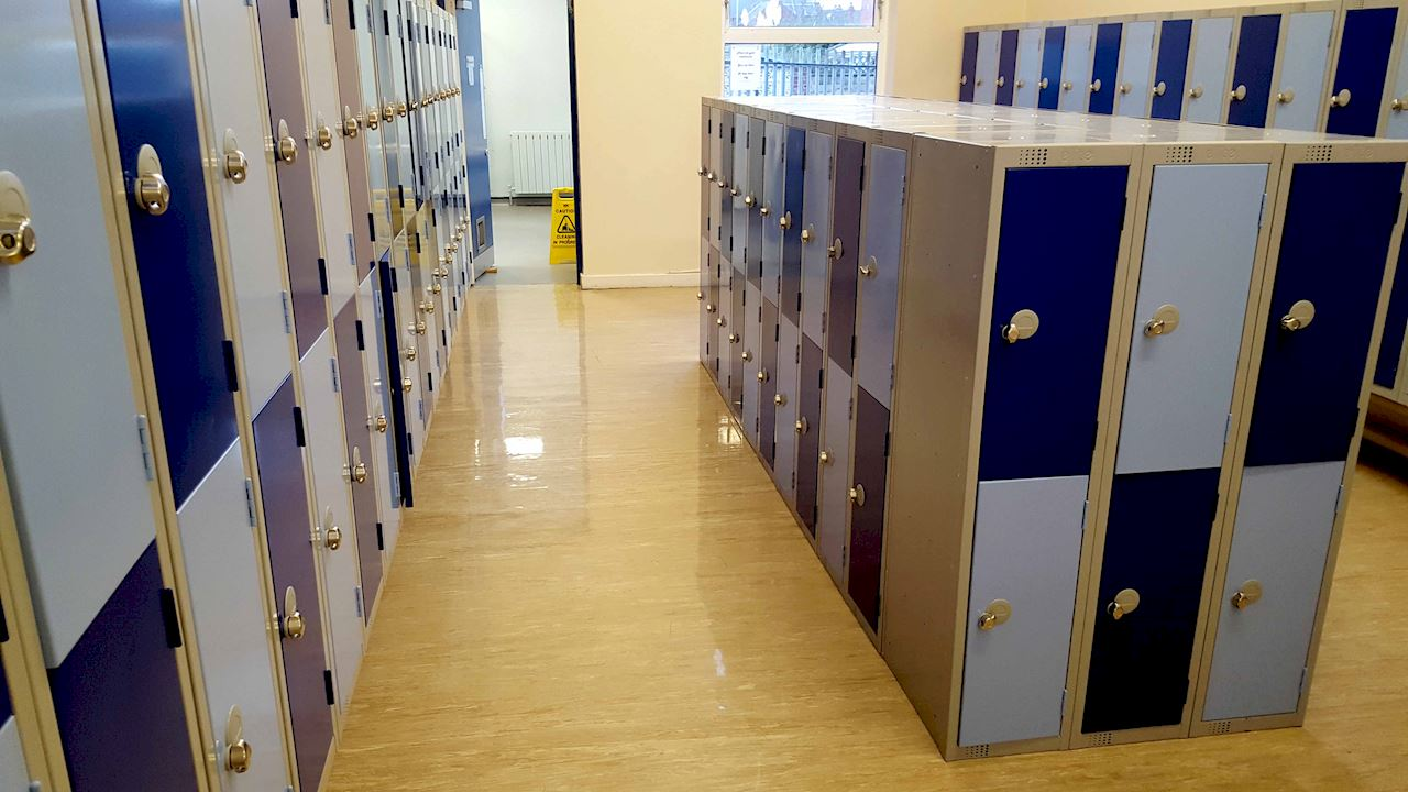 Low Height Lockers - Normanton Junior Academy