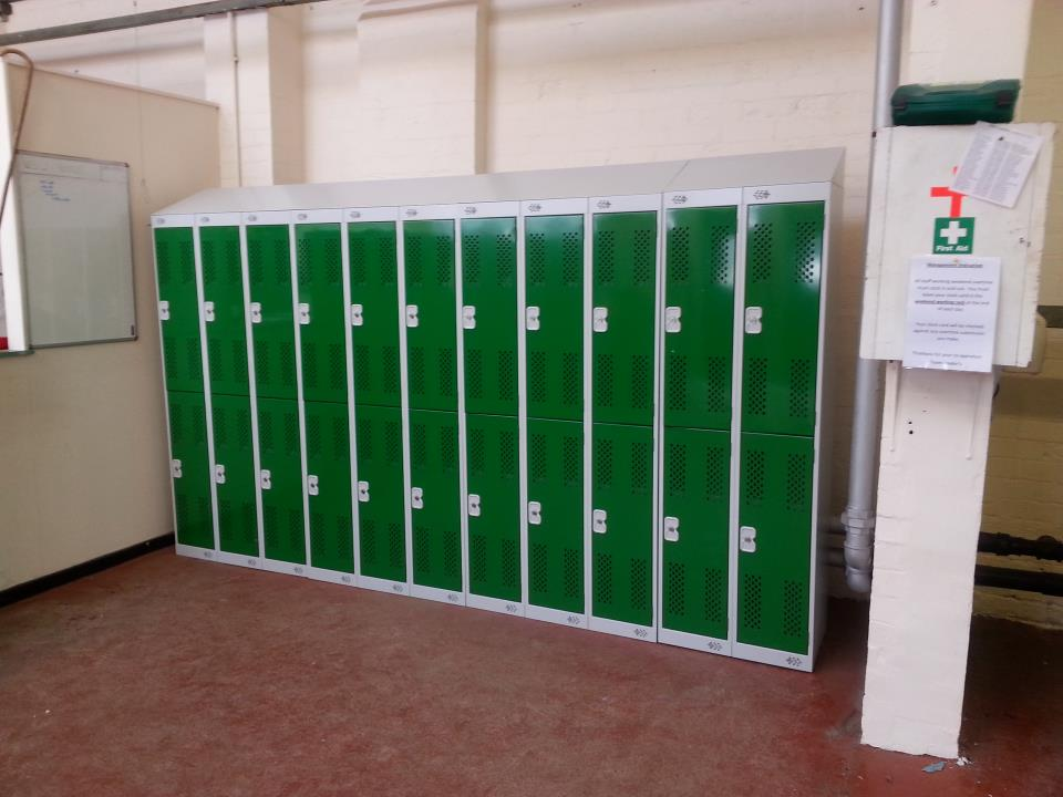 Steel Lockers Bolton Council
