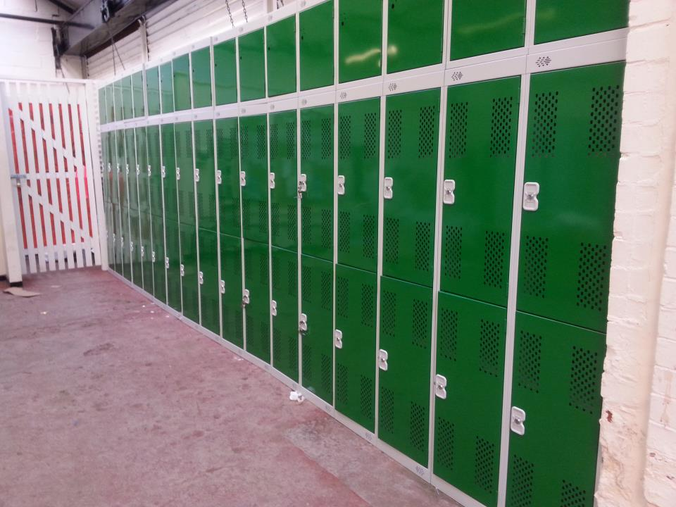 Bolton Council Locker Installation