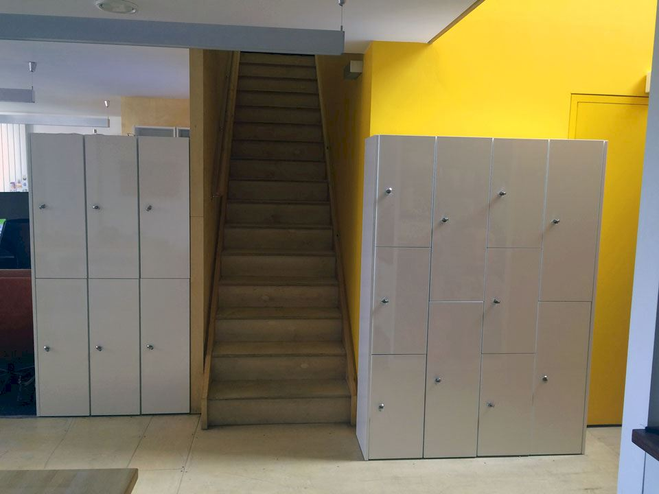 High Gloss Lockers at Finger Industries Ltd