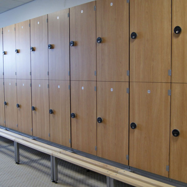 Laminate Lockers Changing Room