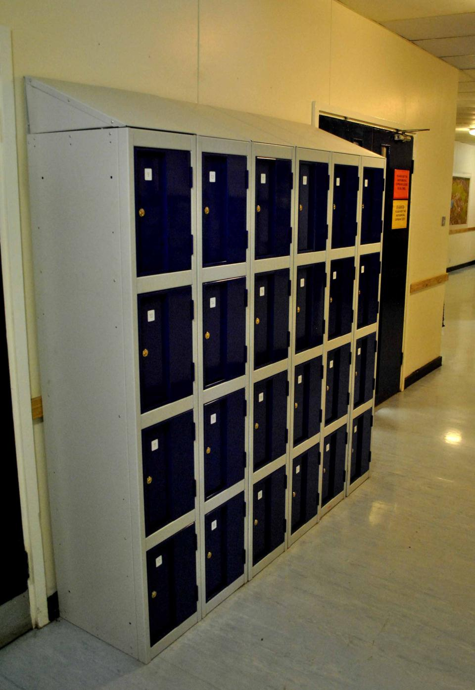 Stronghold Heavy Duty Lockers at Bishops Blue Coat High School