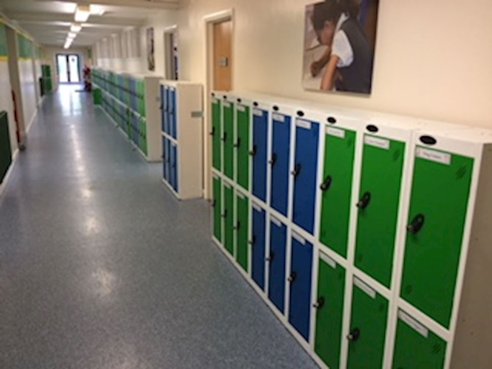 Probe Low Lockers at Lacey Gardens Junior School Louth
