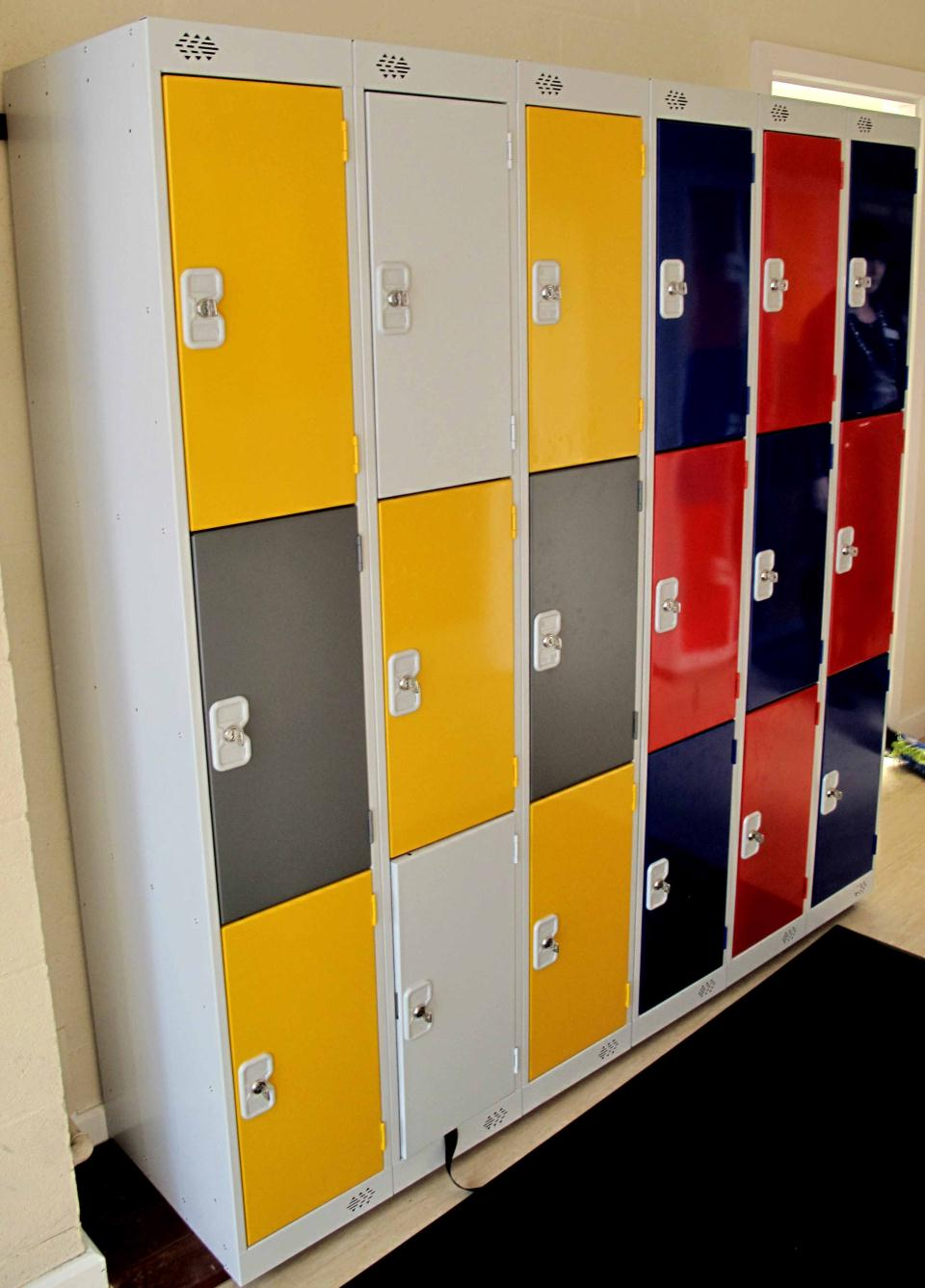 Metal Lockers at Keelby Primary School