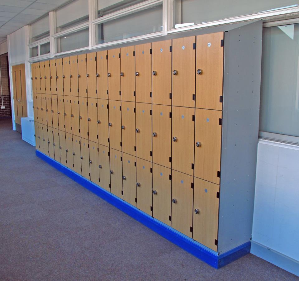 Priesthorpe School Laminate Lockers