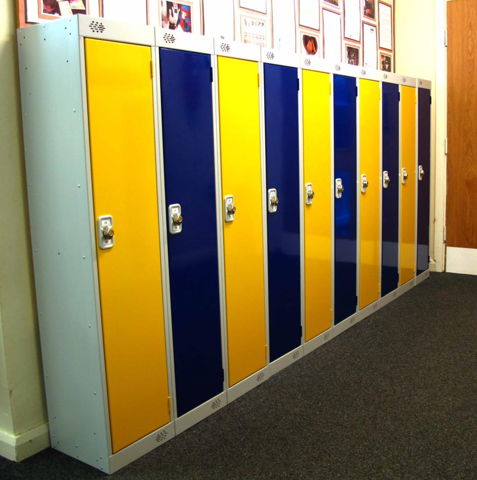 Low Height Lockers at Birdsedge School