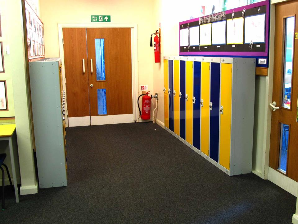 Single Door Low Height Lockers