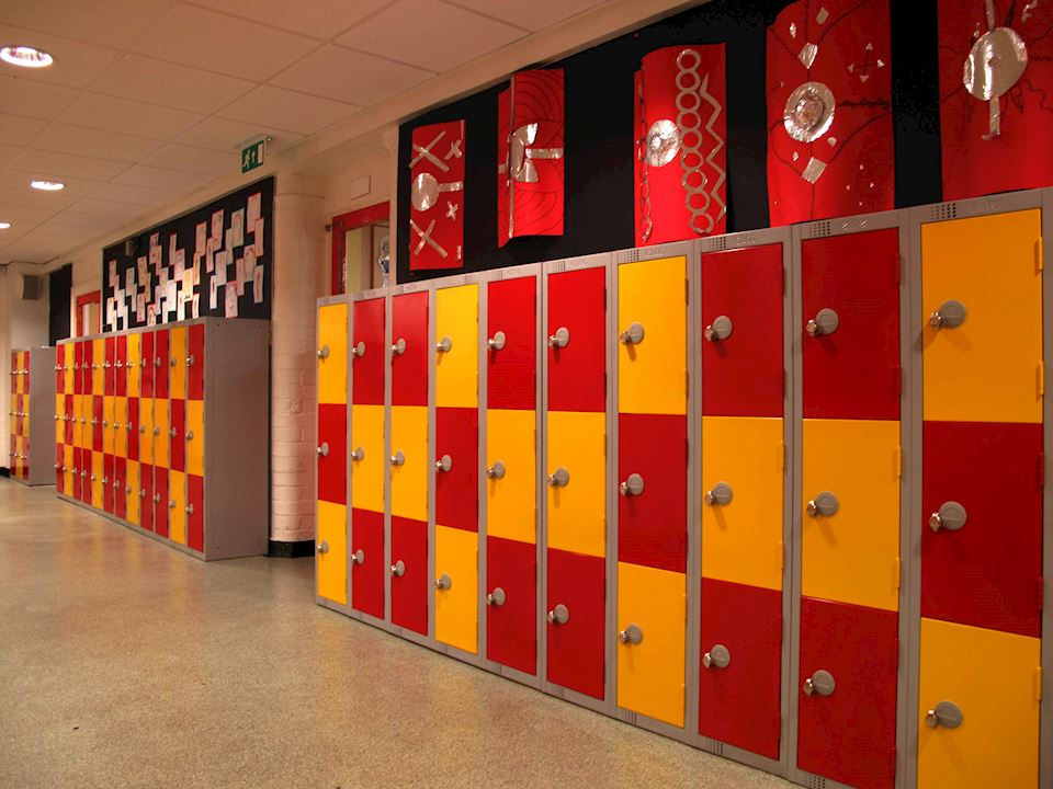 Primary School Lockers Paddock School Huddersfield
