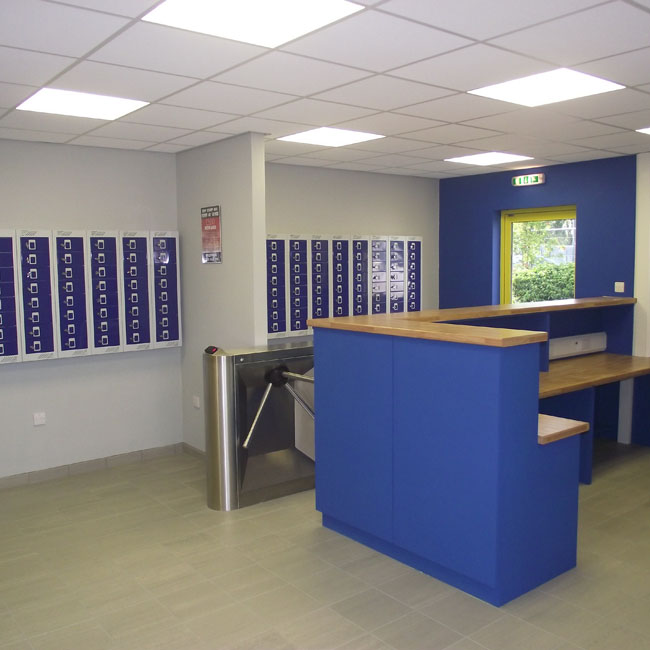 Wall Mounted Mobile Phone Lockers