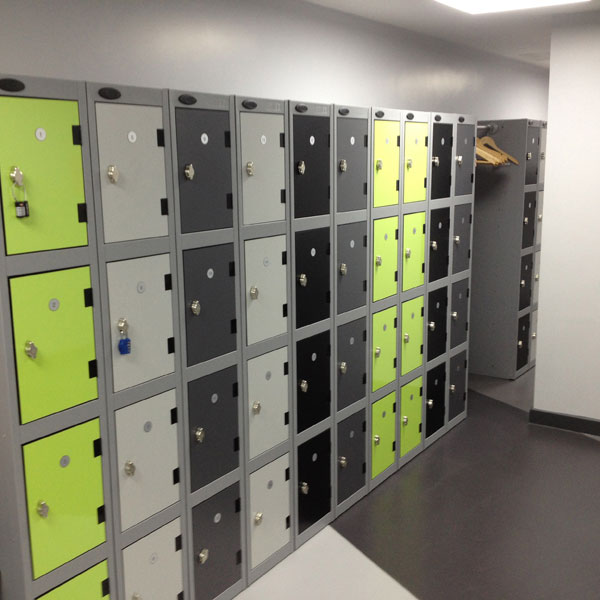 Laminate Lockers Installation