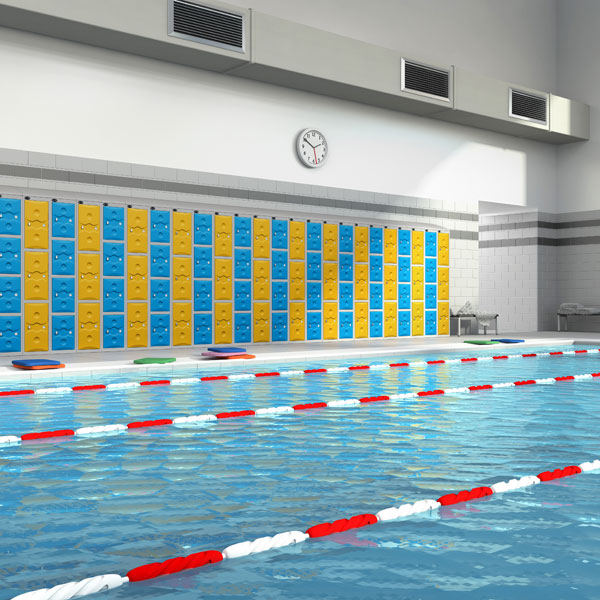 Ultrabox Swimming Pool Lockers