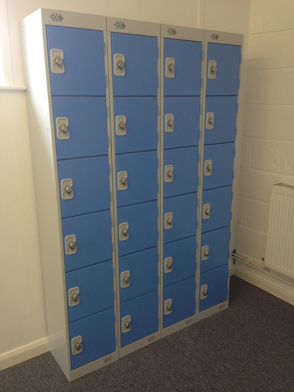 Tolworth Gymnastics Club Powder Blue Lockers