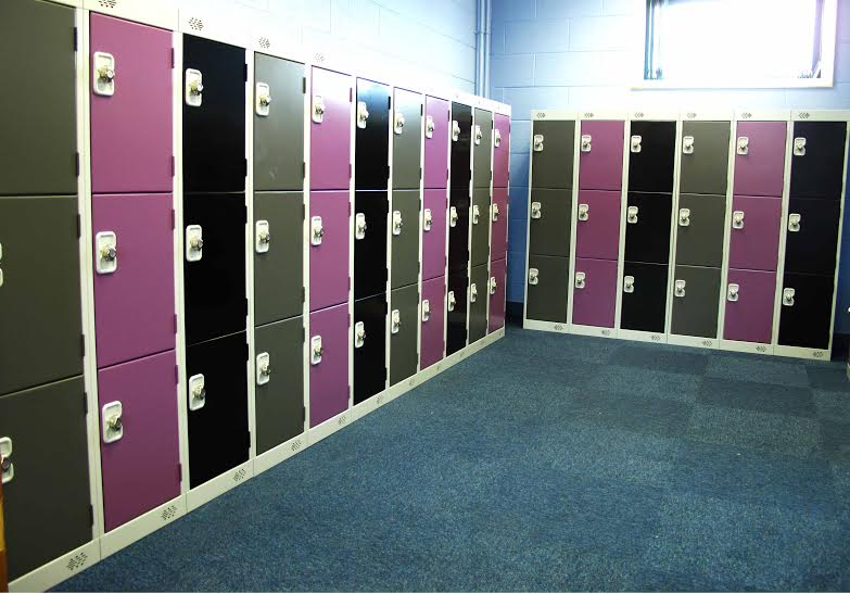 1382mm High Lockers Skegness Junior Academy