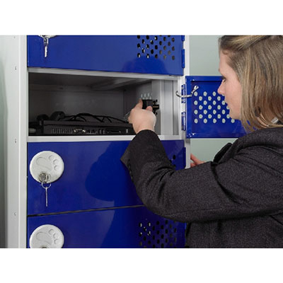 In-Charge Lockers - Installation