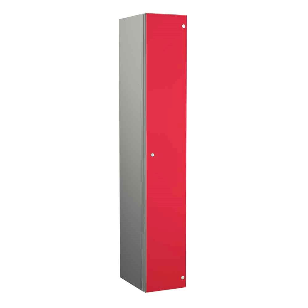 Coin Operated Aluminium Body 1 Door Locker 1800H