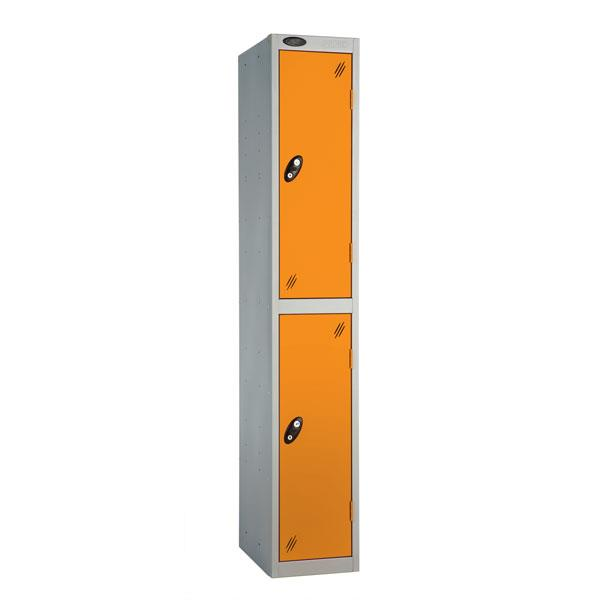 Coloured Two Door Locker