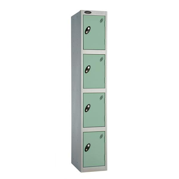 Coloured Four Door Locker