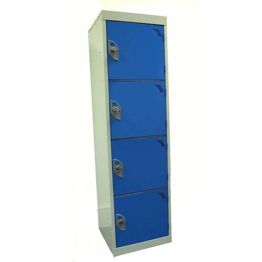 Four door education locker 3d lockers for House lockers