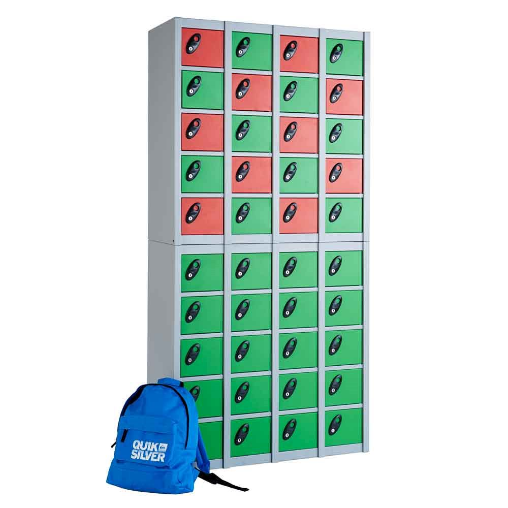 40 Compartment Personal Effects Locker 1880H x 900W x 380D