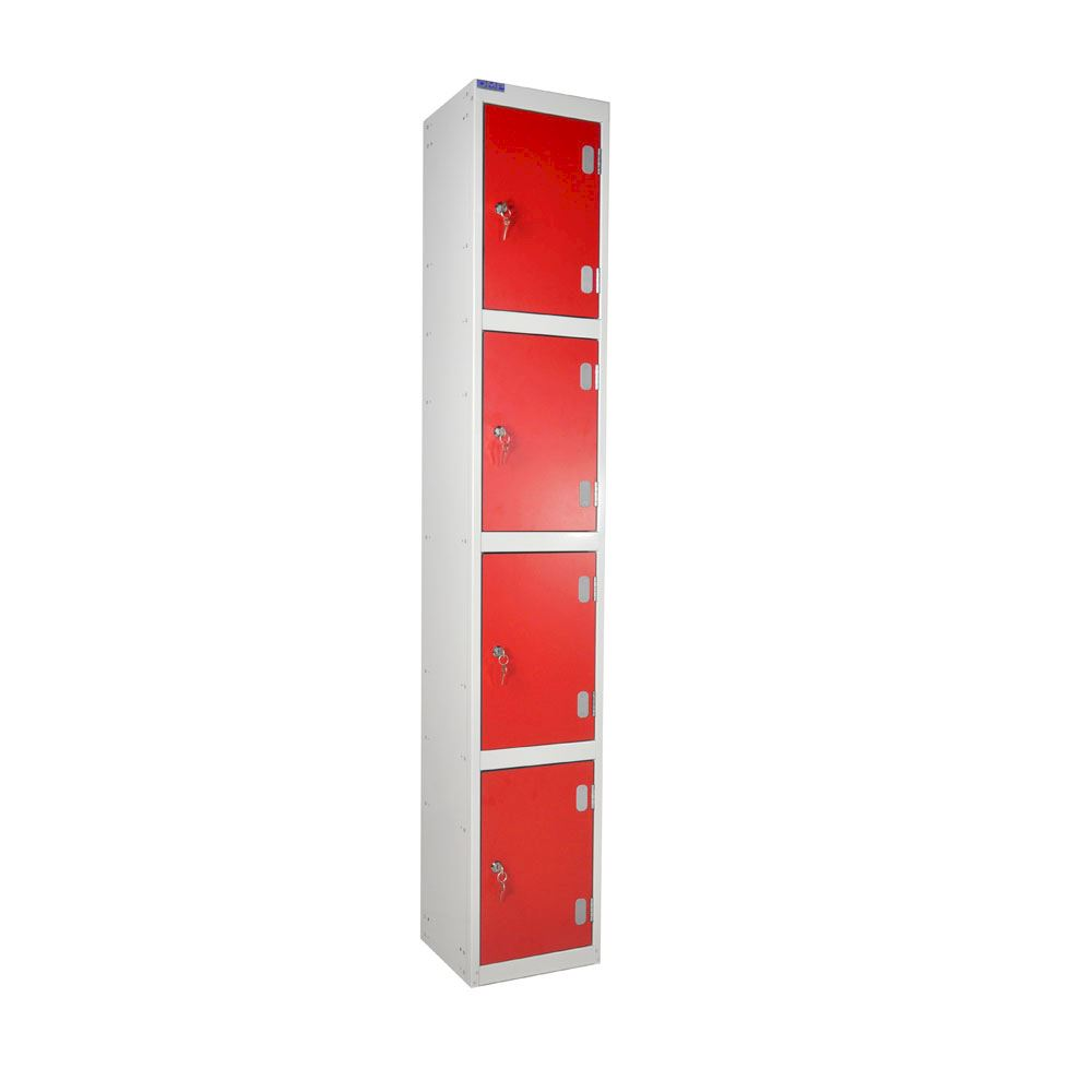 Laminate Locker Four Door - Dry Area