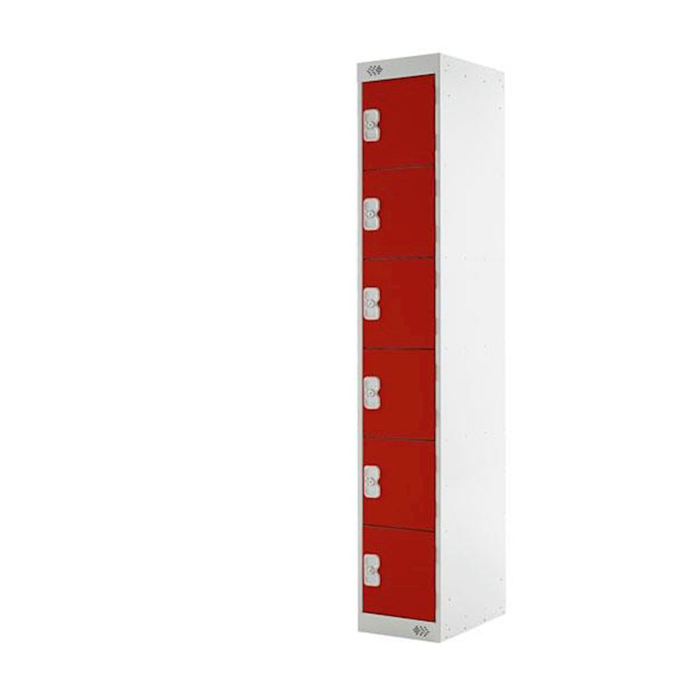 M Series Steel Six Door Locker