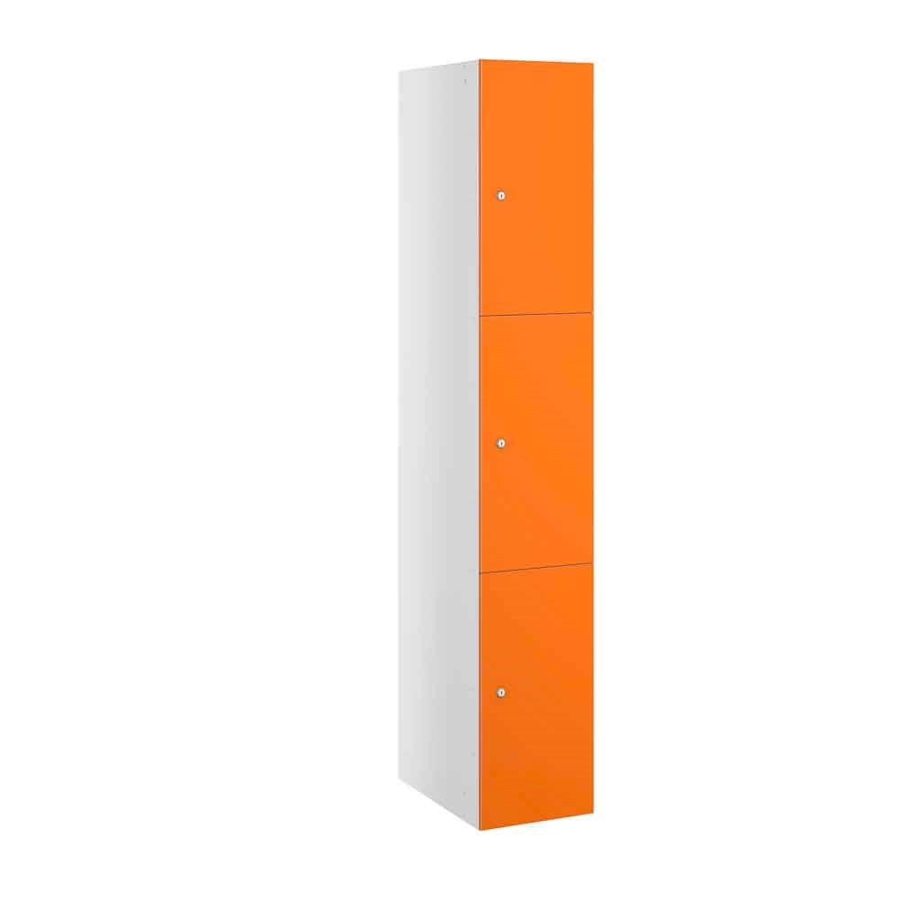 Buzzbox Satin MDF 3 Door Locker 1800H