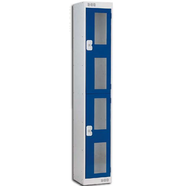 Vision Panel 2 Door Locker