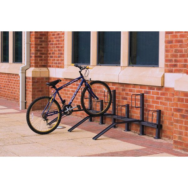 Pillar Bike Rack Single Sided
